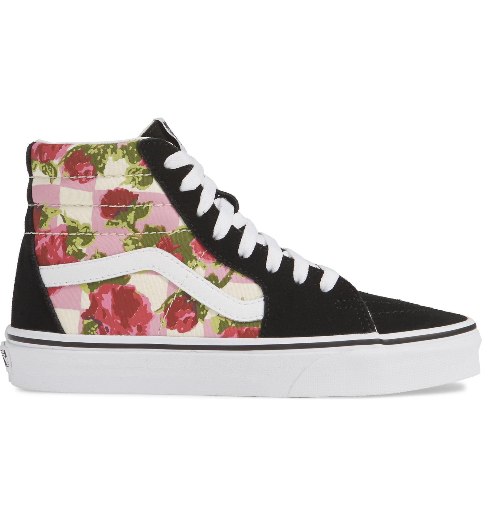 4d04ba0eab9 Vans Sk8-Hi Floral Sneaker In Floral Multi/ True White | ModeSens