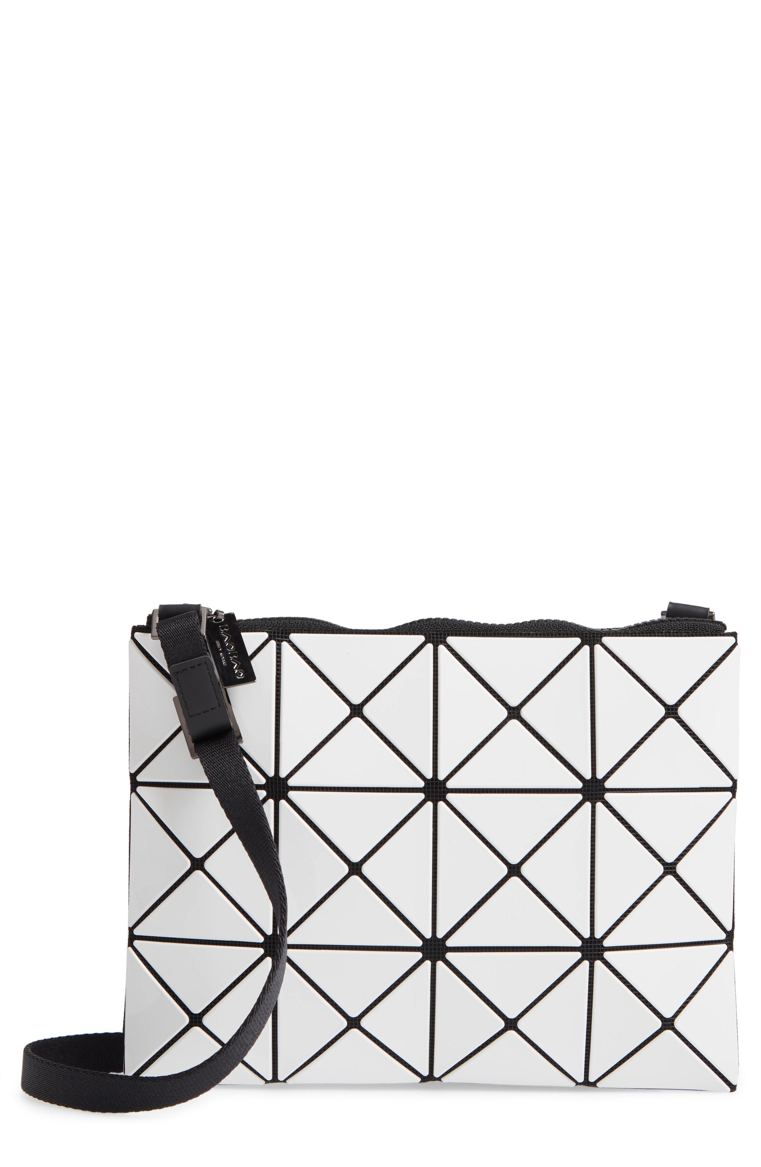 baa3275de1 Bao Bao Issey Miyake Small Lucent Crossbody Bag - White