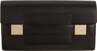 Delvaux Madame Ptf Long Wallet In Black