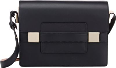 Delvaux Madame Pm Shoulder Bag In Black