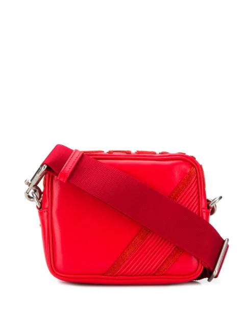 Givenchy Logo Crossbody Bag In Red