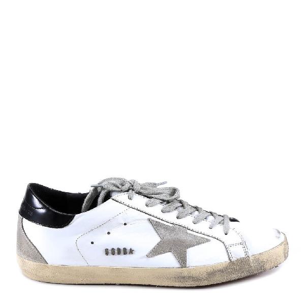 Golden Goose Deluxe Brand Superstar Sneakers In White
