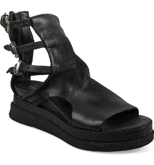 A.S.98 Landon Sandal In Black