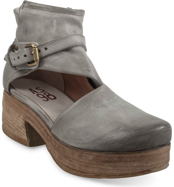 A.S.98 Pree Clog In Grey