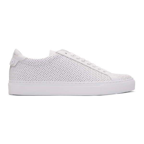 Givenchy Urban Street Upside Down Sneaker In 100 White