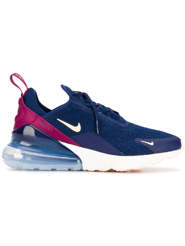 on sale f51b9 344a2 Nike Women's Air Max 270 Casual Shoes, Blue | ModeSens
