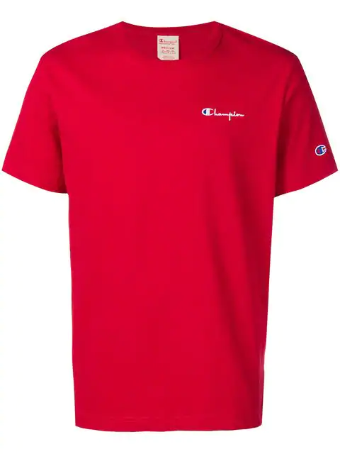Champion Jersey T-shirt In Red