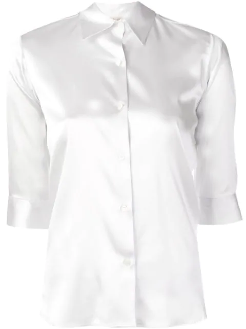 Blanca Slim-fit Shirt In Grey
