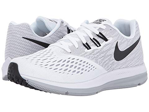 huge discount best choice meet Nike Air Zoom Winflo 4, White/Black/Wolf Grey | ModeSens
