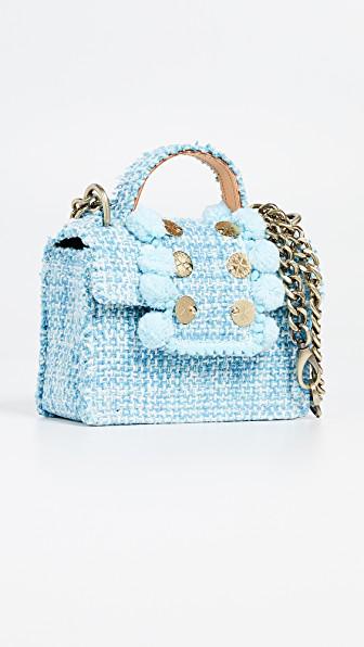 Kooreloo Petite Juliet Bag In Aquamarine