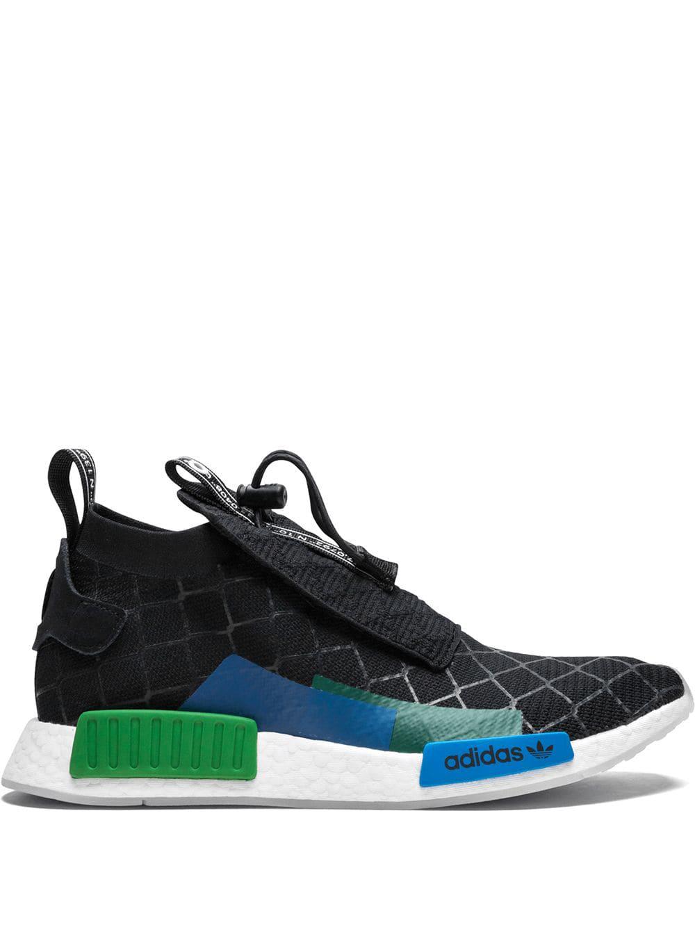 5044793f40bc5 Adidas Originals Adidas Nmd Ts1 Gore-Tex Primeknit Sneakers - Black ...
