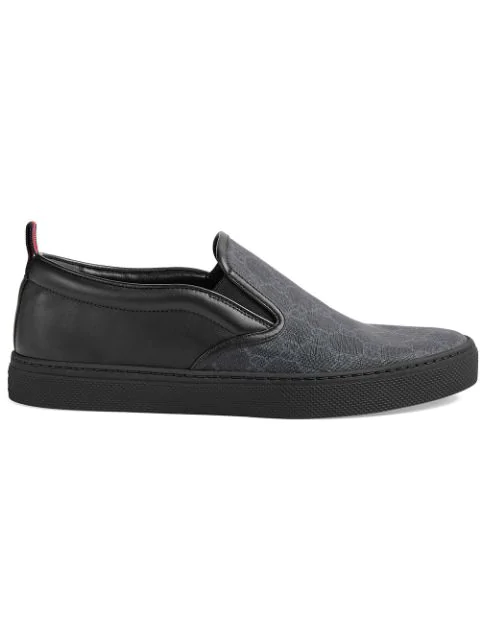 da1ebe080 Gucci Men's Dublin Logo Slip-On Sneakers In Black | ModeSens