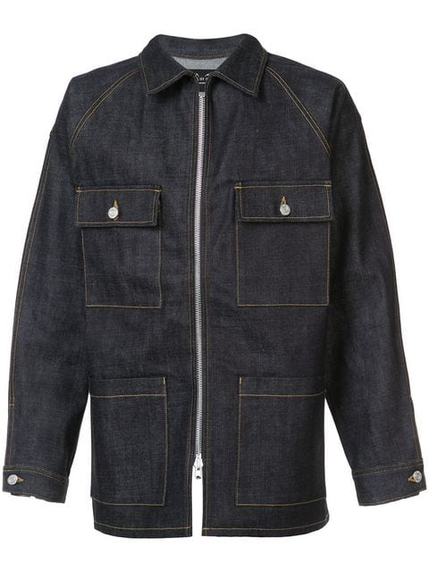 aea5a0c8281 Fear Of God Fifth Collection Selvedge Denim Jacket In Indigo | ModeSens