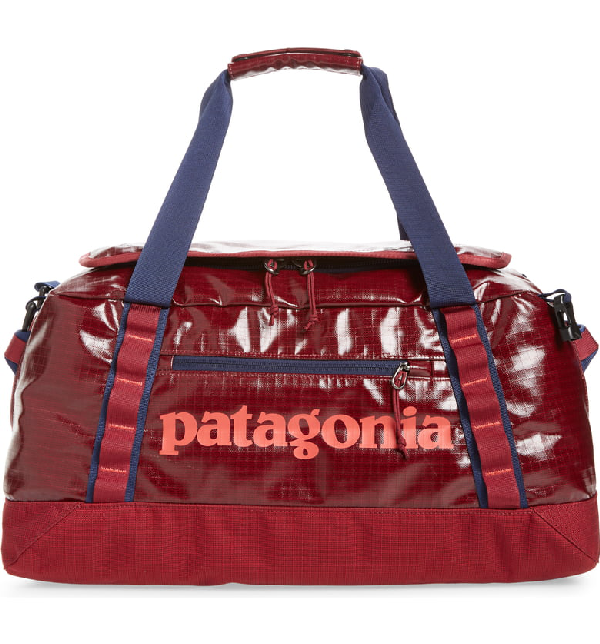 eb074059b Patagonia Black Hole Water Repellent 45-Liter Duffle Bag - Red In Arrow Red