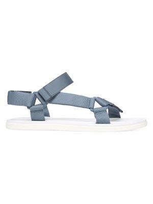 Vince Men's Destin Velcro Strap Walking Sandals In Bering Sea