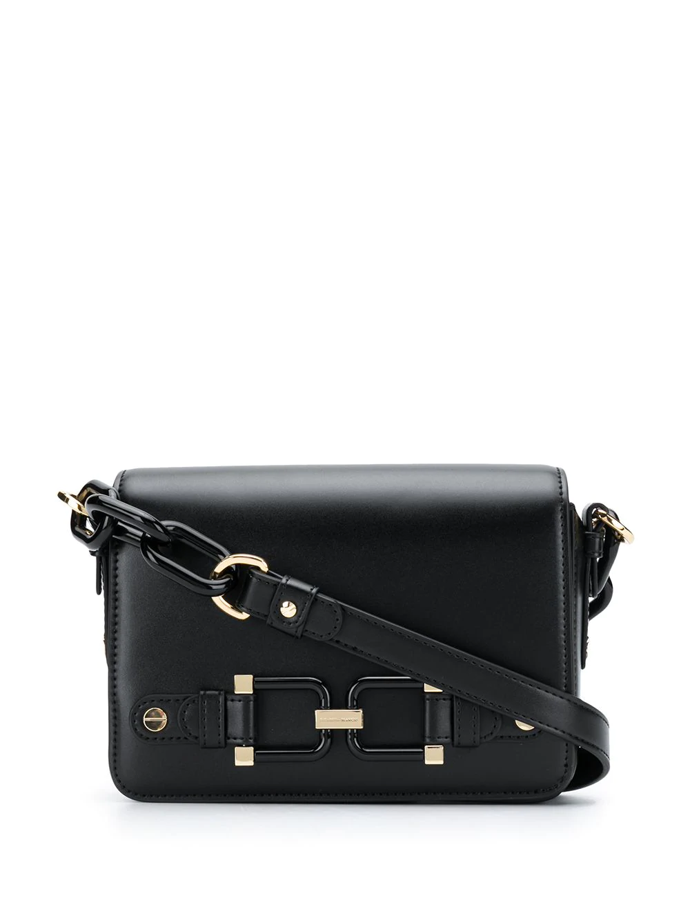 14465b6ef1 Elisabetta Franchi Mini Box Shoulder Bag - Black