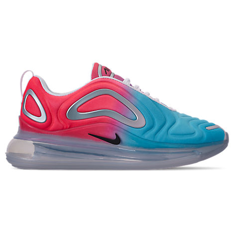 Nike Women's Air Max 720 Running Shoes, Pink/Blue In Lava Glow Black