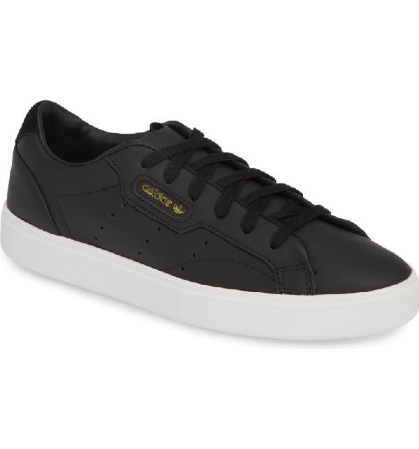 Adidas Originals Women's Originals Sleek Casual Shoes, Black - Size 9.0
