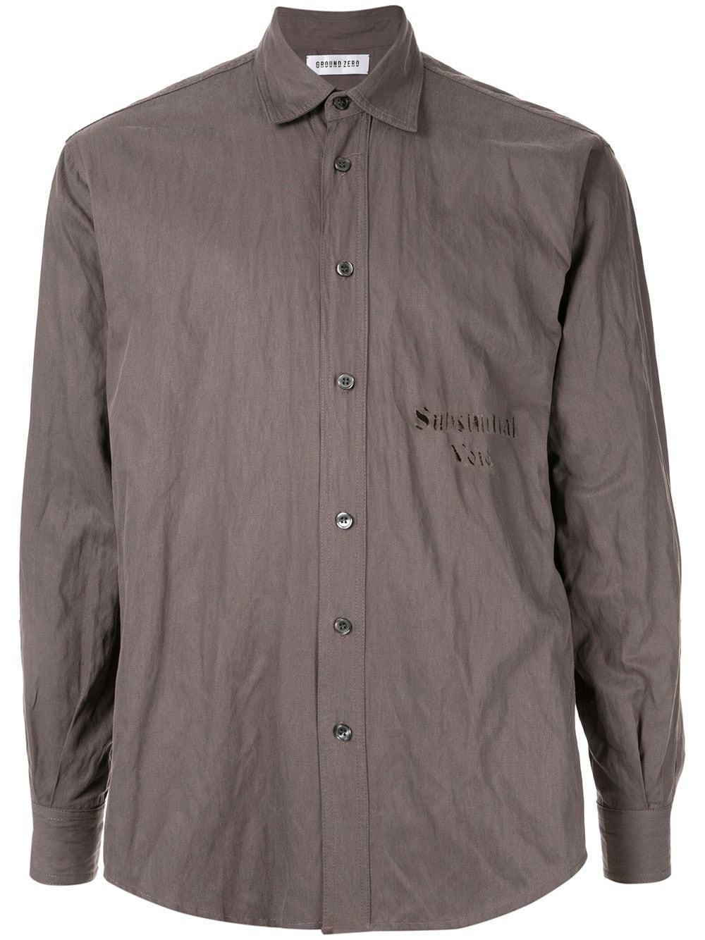 Void Substantial Shirt Ground GreyModesens Zero Yyb7gvf6