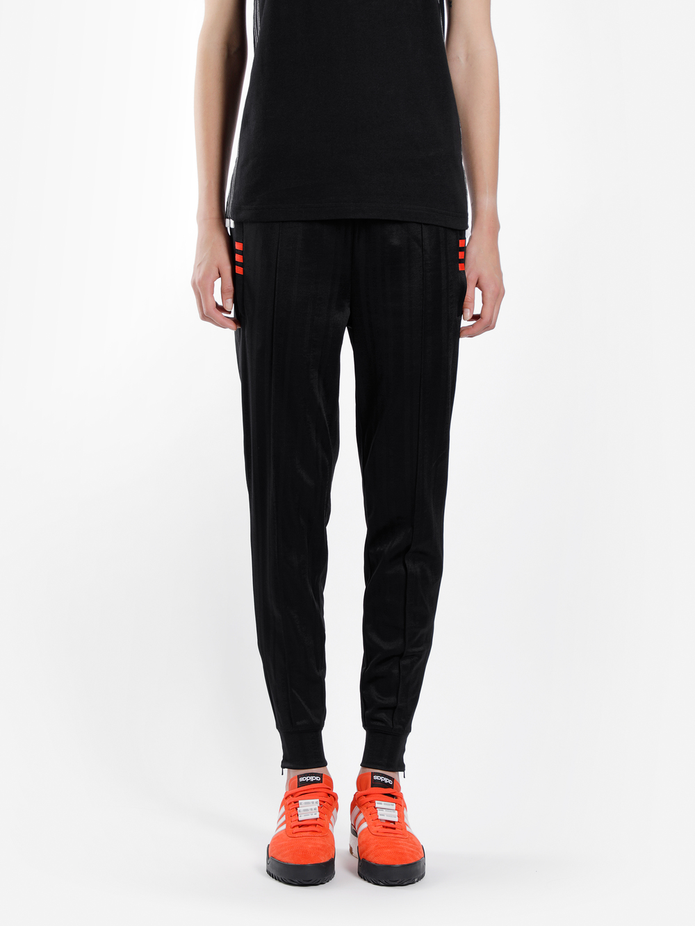 Adidas Originals By Alexander Wang Adidas By Alexander Wang Trousers In Black