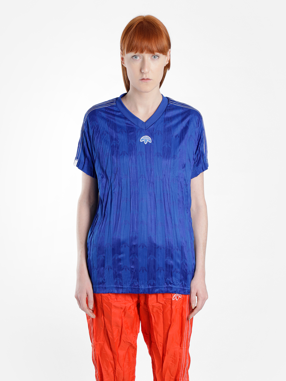 Adidas Originals By Alexander Wang Adidas By Alexander Wang T-Shirts In Blue