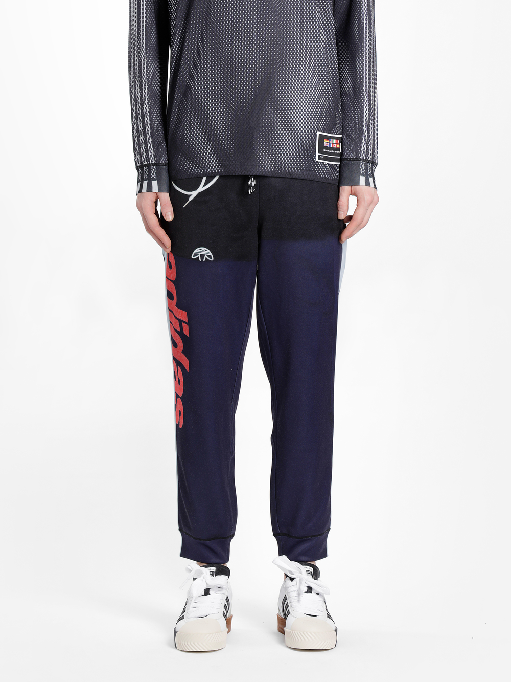 Adidas Originals By Alexander Wang Adidas By Alexander Wang Trousers In Multicolor