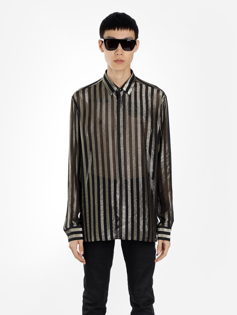 06e1b707a8f Saint Laurent Shirts In Black | ModeSens