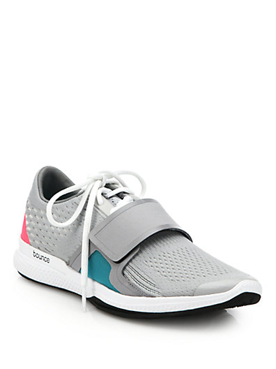 Adidas By Stella Mccartney Atani Bounce Sneakers In Grey