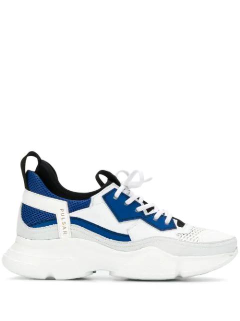 Bruno Bordese Pulsar Sneakers In White