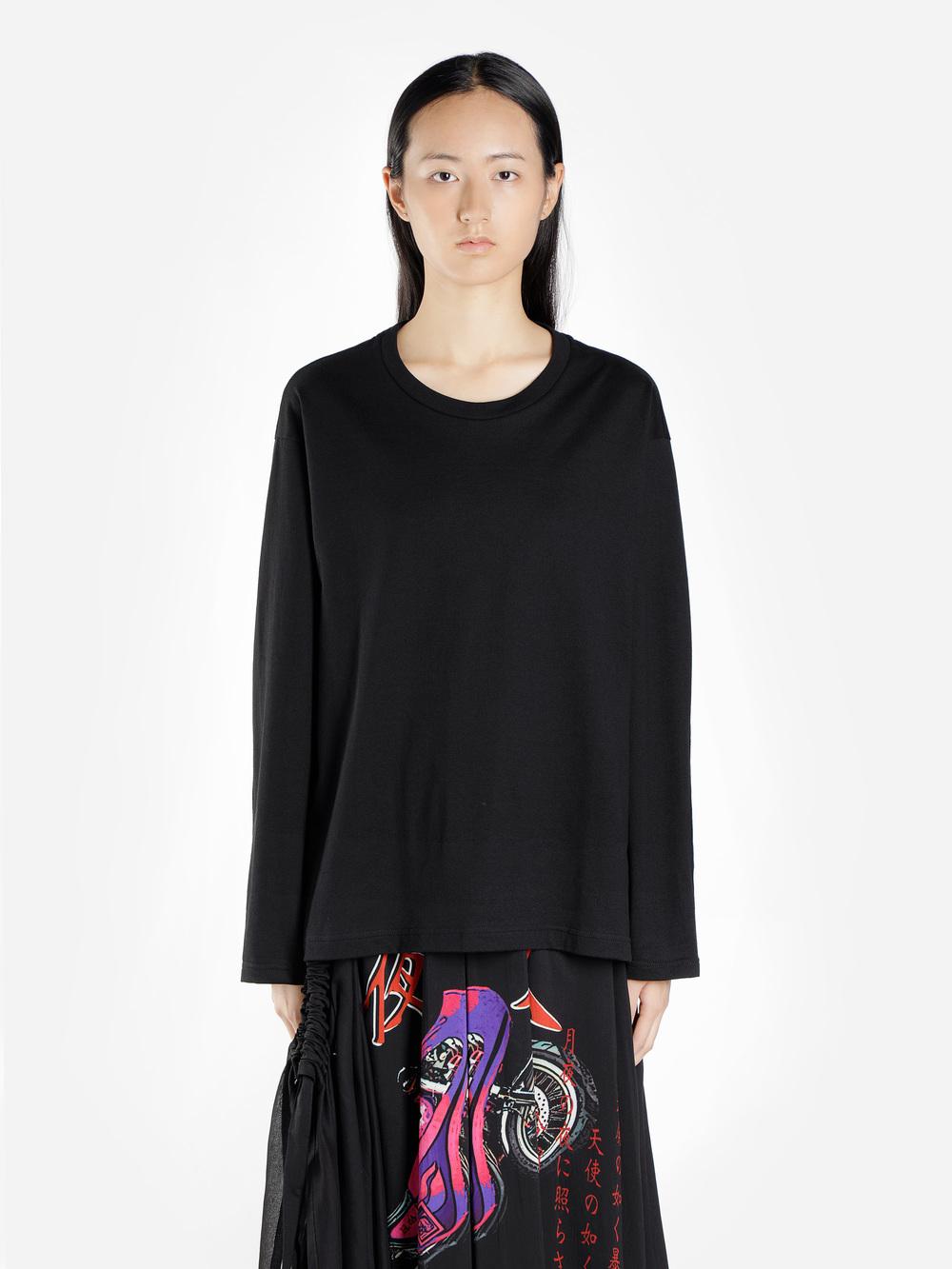 Yohji Yamamoto T-Shirts In Black