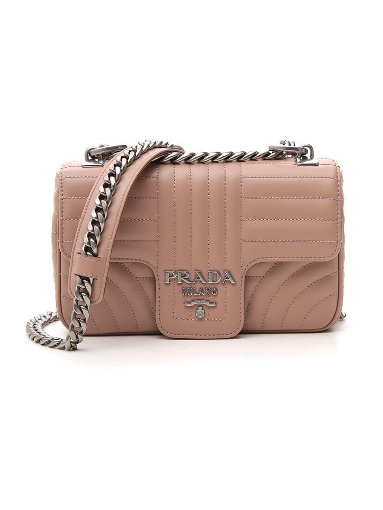 3e17db2c81f3 Prada Matelassé Shoulder Bag In Pink | ModeSens