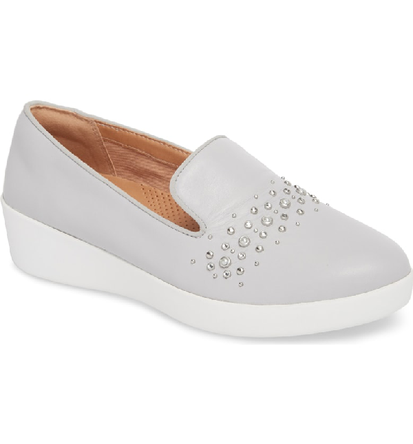4d1c619e7fa Fitflop Audrey Loafer In Pearl Leather
