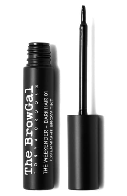 The Browgal The Weekend Overnight Brow Tint In Dark Hair 01