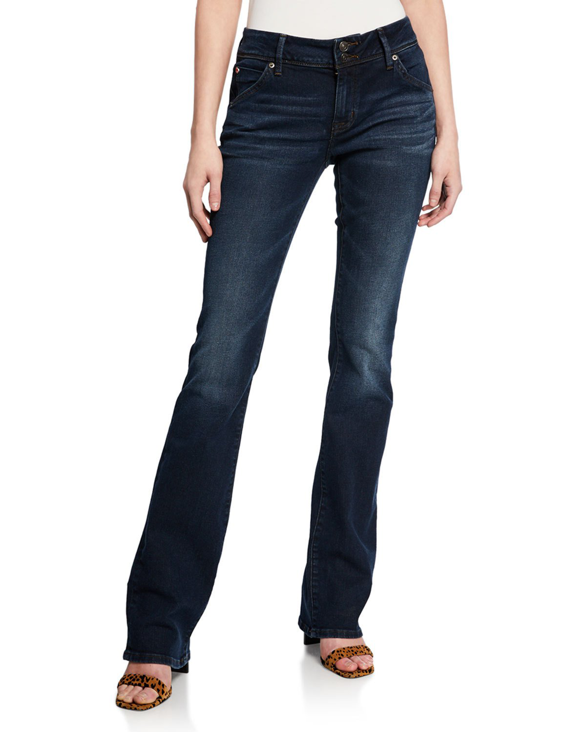 Hudson Beth Baby Boot Jeans In Blue Modesens