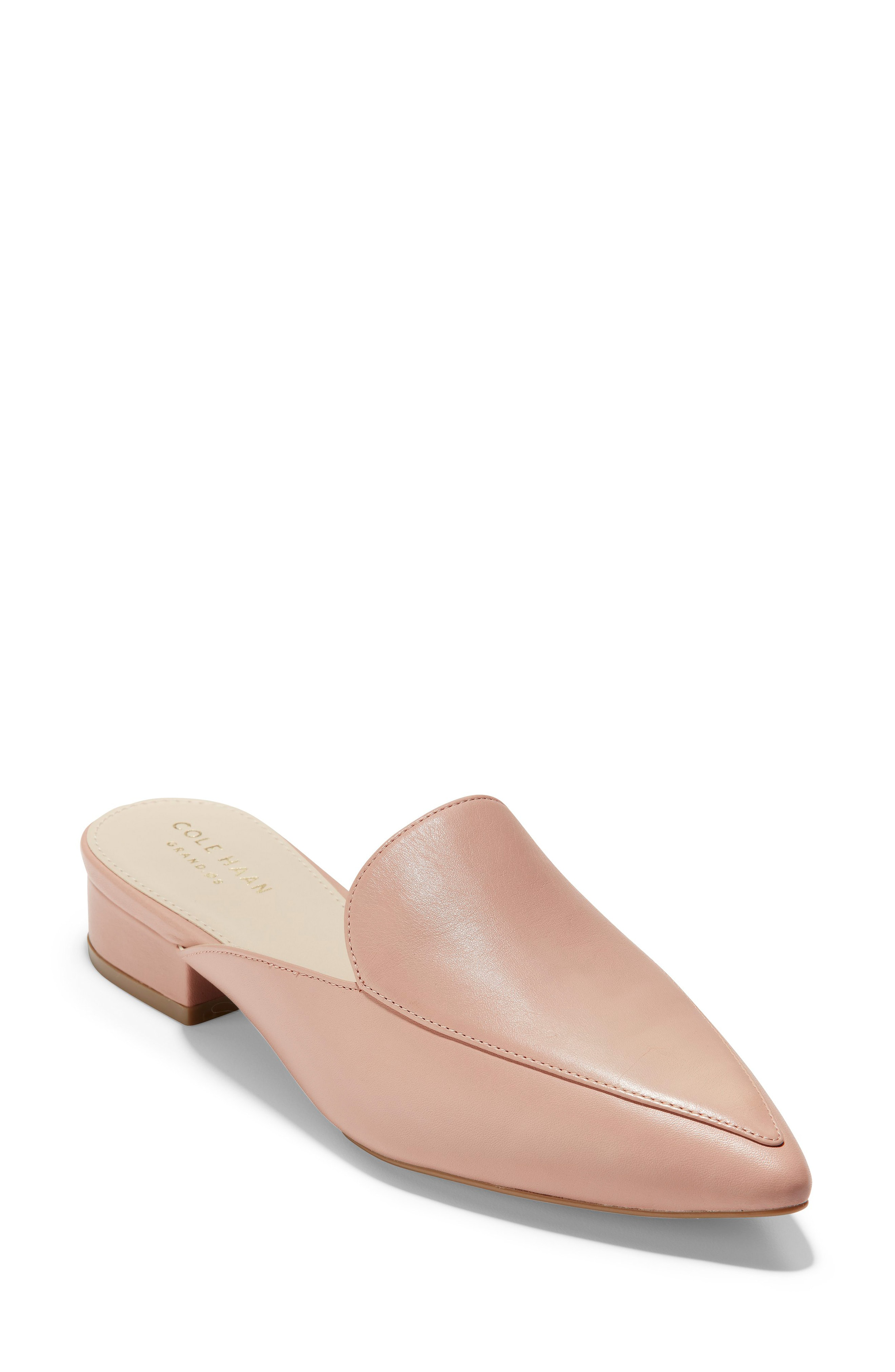 bd8e92f6bfa Cole Haan Piper Loafer Mule In Misty Rose Leather