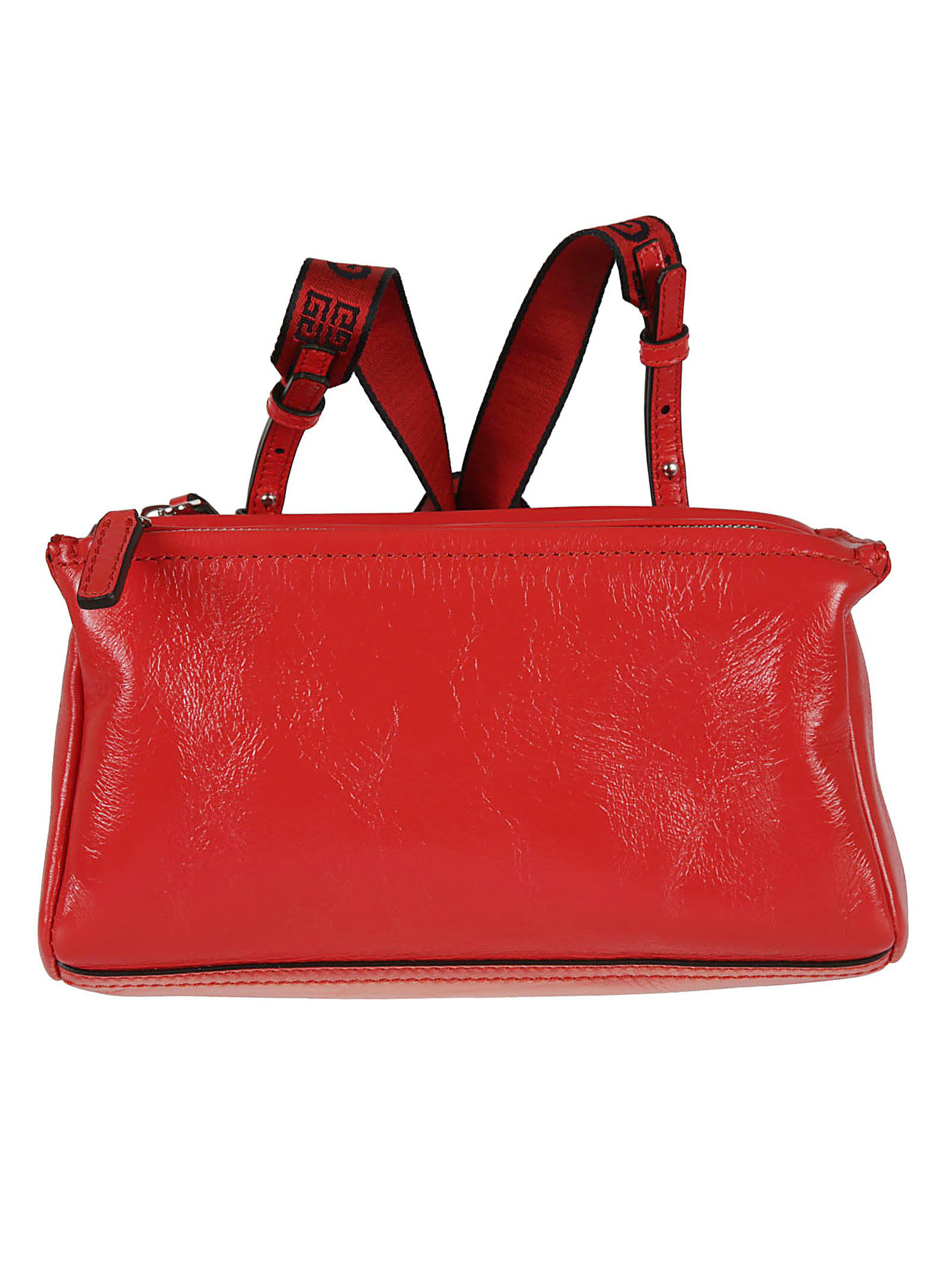 Givenchy 4g Mini Pandora Shoulder Bag In Pop Red