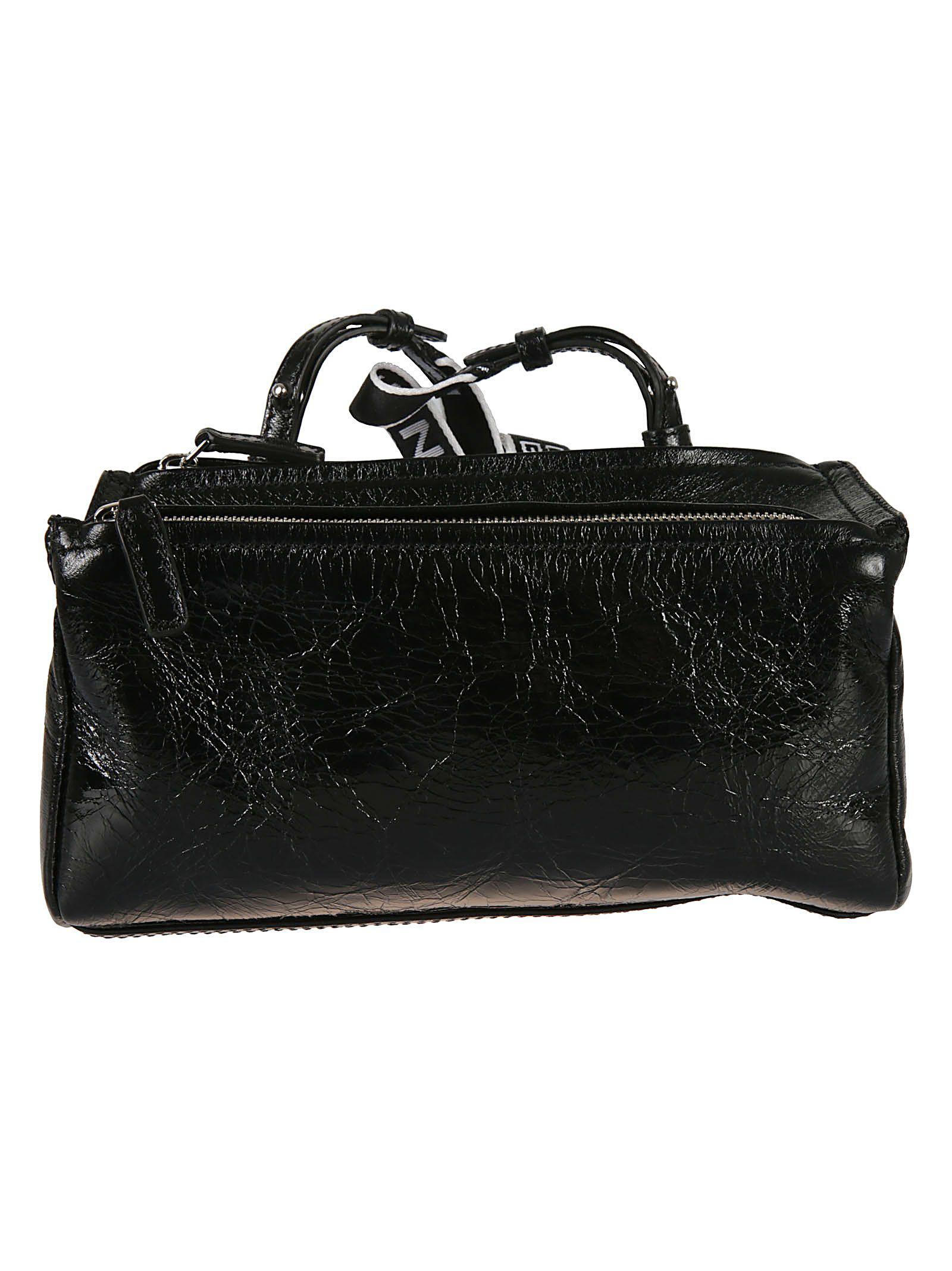 Givenchy 4g Mini Pandora Shoulder Bag In Black