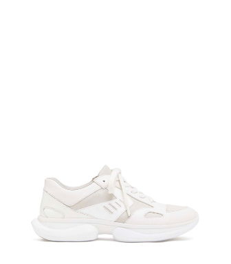 Tory Sport Bubble Sneaker In Snow White/off White