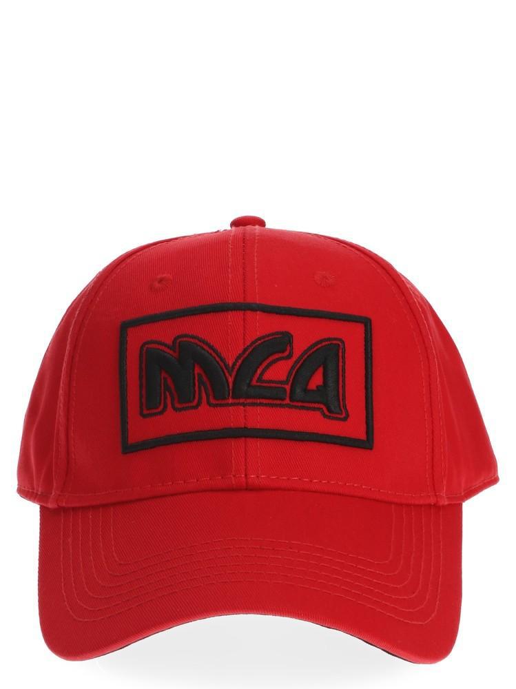 Mcq By Alexander Mcqueen Mcq Alexander Mcqueen Baseball Cap In Red
