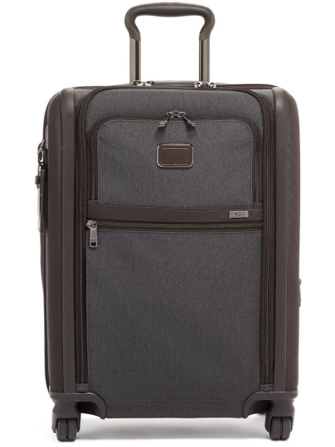 Tumi Alpha 3 Collection 22-inch Wheeled Dual Access Continental Carry-on In Grey