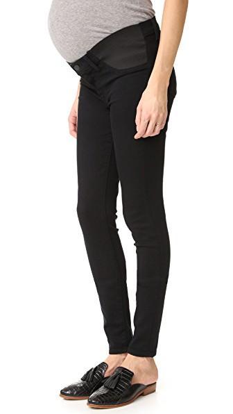 9f3237bd165b9 J Brand Mama J Super Skinny Maternity Jeans In Seriously Black ...