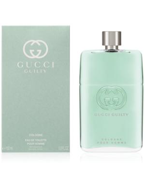 Gucci Men's Guilty Cologne Pour Homme Eau De Toilette, 3 -oz. In Undefined