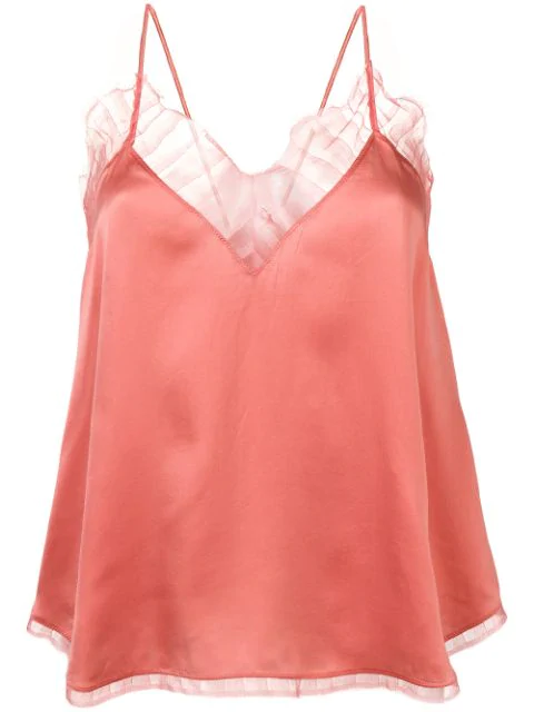 Iro Lace Camisole Top - Pink