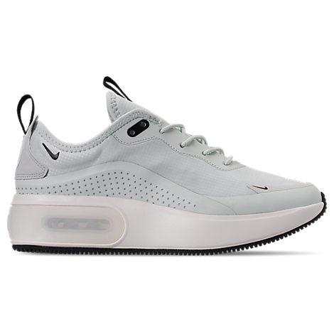 nike women's air max dia casual shoes in white size 85