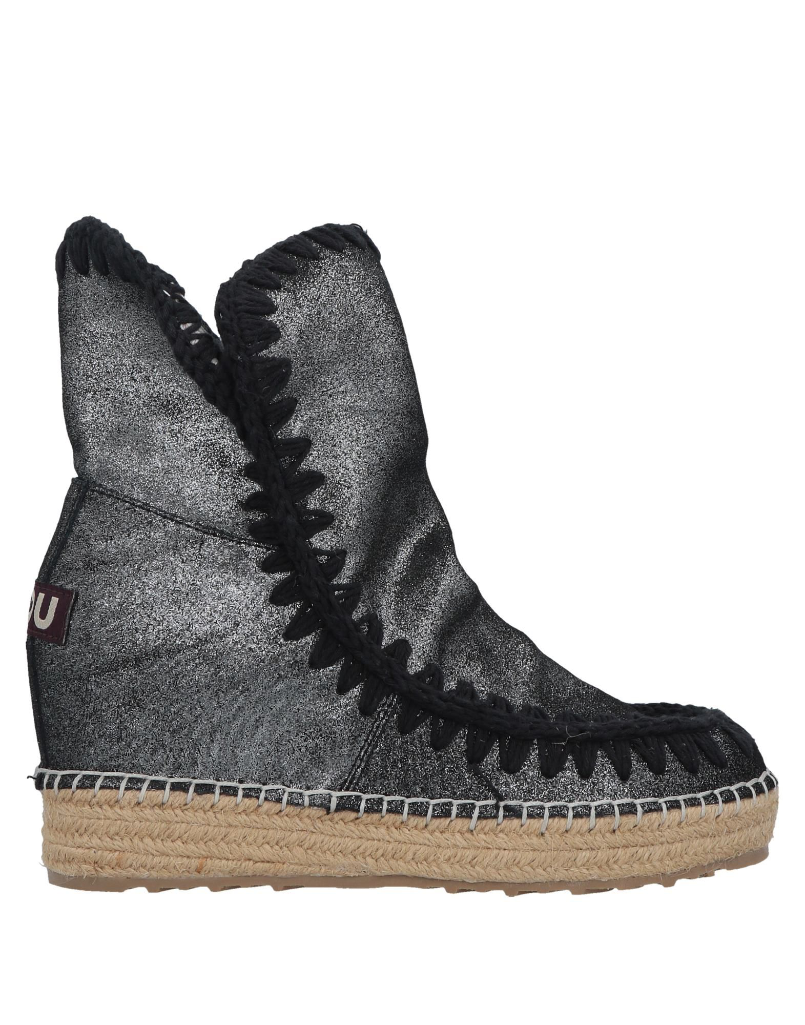 Mou Ankle Boot In Lead