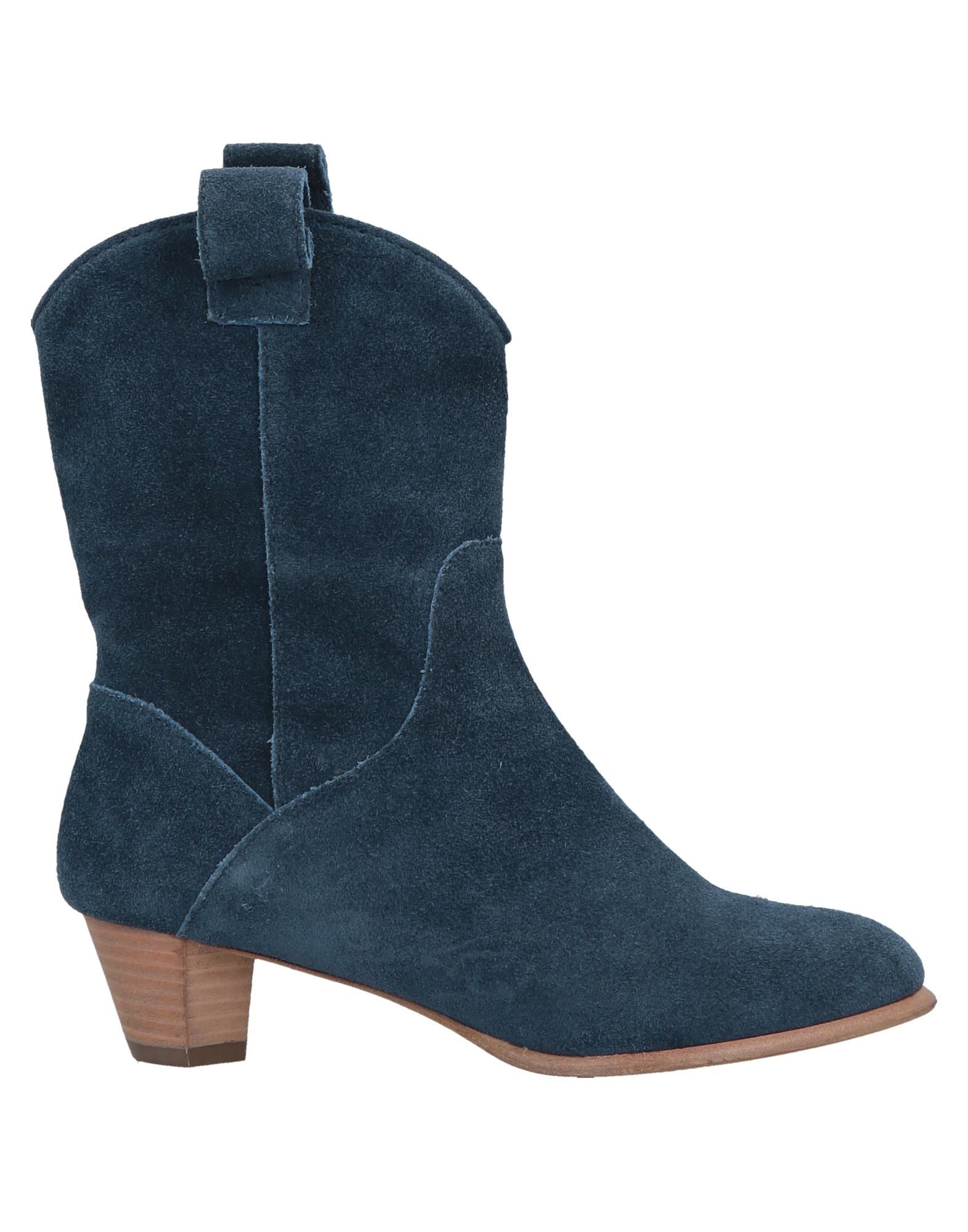 Marc By Marc Jacobs Ankle Boot In Slate Blue