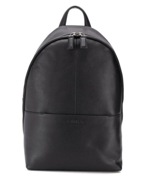 Calvin Klein Round Backpack In Black