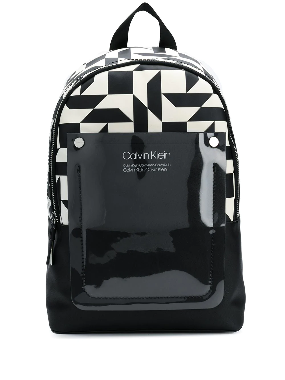 Calvin Klein Geometric Pattern Backpack - Black  d63c06e594913