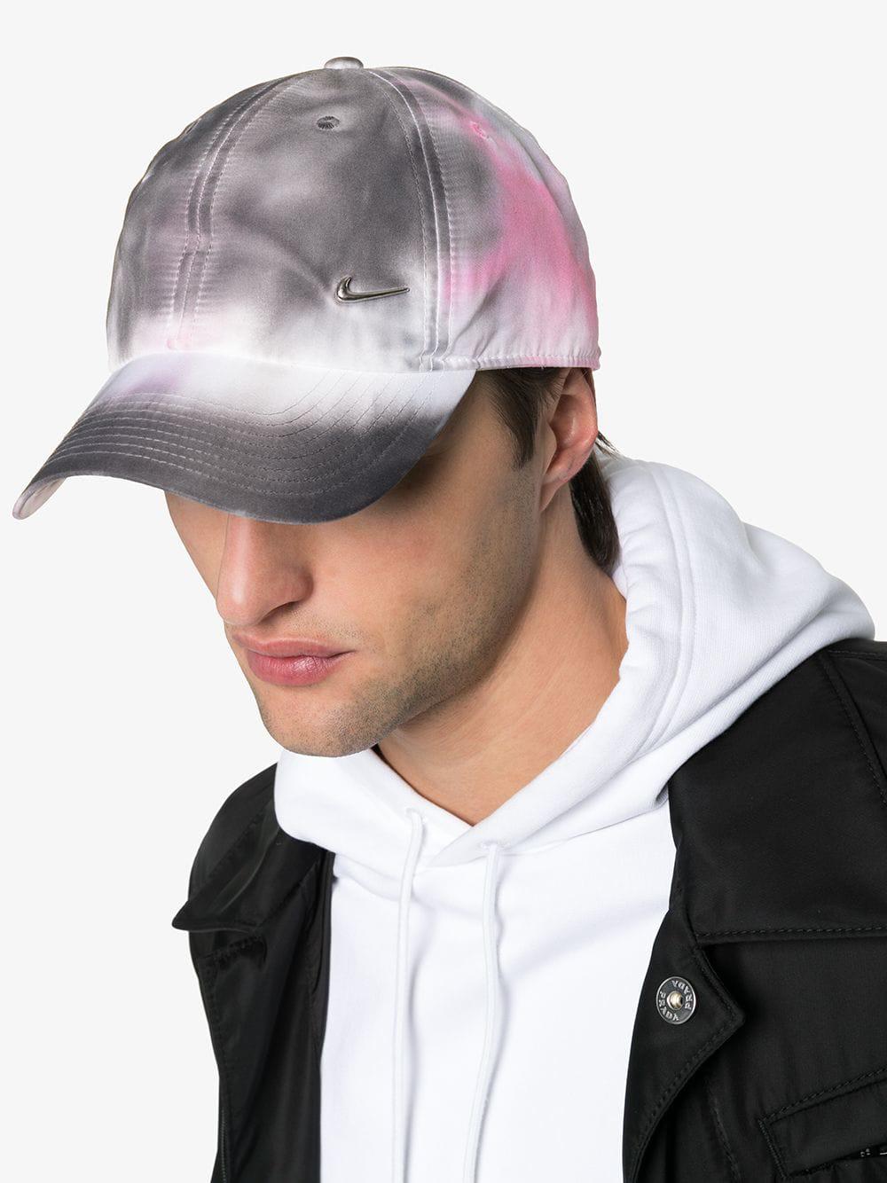 628622df44d4dd Alyx 1017 9Sm Pink And Grey Sponge Camo Print Baseball Cap In 123 Pink Camo