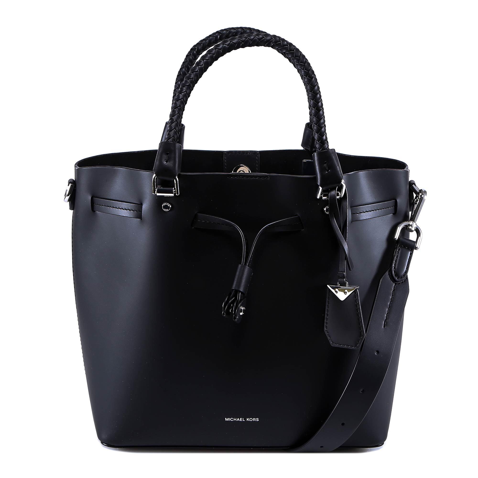 2a3ee03d7 Michael Michael Kors Blakely Bucket Bag In Black | ModeSens